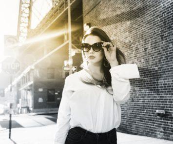 modieuze bril met zonneglazen van Seiko